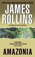 BUY 2 GET 1 FREE Amazonia by James Rollins (2003, Paperback)