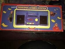 VINTAGE YOUTHTRONICS PERSONAL STEREO SYSTEM MULTILE USES BRAND NEW