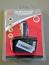 Car MP3 MP4 Player Wireless FM Transmitter Cigarette Lighter Modulator Audio