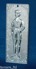 "Tama Ex Voto "" Boy "" Greek Russian Orthodox Icon Embossed Metal Plaque-TM-002-"