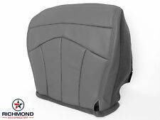2000 Ford F150 Lariat 4x4 2WD Quad-Cab -Driver Bottom Leather Seat Cover GRAY