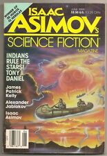 ISAAC ASIMOV'S SCIENCE FICTION MAG June 1991 James Patrick Kelly, Eileen Gunn