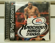 TESTED Knockout Kings 2000 1999 PlayStation 1 & 2 PS1 PS2 Muhammad Ali EA Sports