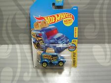2017 HOT WHEELS ''LEGENDS OF SPEED'' #70 = ROLLER TOASTER = BLUE  us