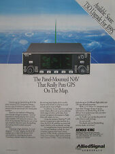 6/1993 PUB ALLIED SIGNAL AEROSPACE BENDIX KING KLN 90 GPS NAVIGATION SYSTEM AD