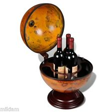 Globe bar bevande Gabinetto GIREVOLE Table Top Wine STORAGE MINI BAR BEVANDE Storage