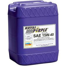 Royal Purple 05154 SAE 15W-40 RP Series Synthetic Oil 5 Gallon Pail