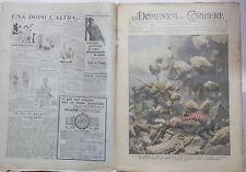 LA DOMENICA DEL CORRIERE 9 dicembre 1934 Frana di granito Mammut Jamaln Zulu di