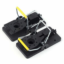 2 x Rat Trap Heavy Duty Snap-E Mouse Trap-Easy Set Catching Catcher BH