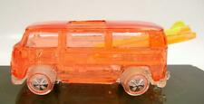 VW VOLKSWAGEN BEACHBOMB VAN CUSTOM RED PLASTIC EDITION NIGHT STALKER HOT WHEELS