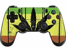 Rasta Playstation 4 (PS4) Controller Sticker / Skin / Wrap / PS21