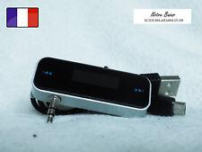 Nouveau Mini Voiture FM Transmetteur Kit  USB Cable pour Portable  Smartphone