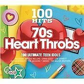 Demon Music Group 100 Hits 70s Heart Throbs 5 cds Sealed 2016 FACT