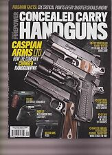 WORLD OF FIREPOWER CONCEALED CARRY HANDGUNS MAGAZINE WINTER 2016.