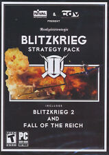 BLITZKRIEG 2 STRATEGY PACK II & Fall of the Reich NEW!