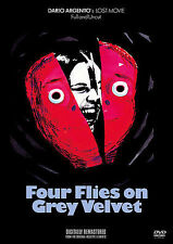 Four Flies On Grey Velvet (DVD, 2009)