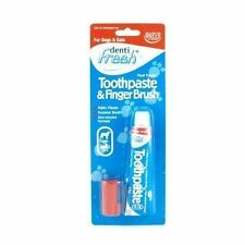 Hatchwells Puppy & Kitten Toothpaste & Finger Toothbrush Starter Kit 45g