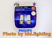 PHILIPS 12958 T10 W5W 6000K Xenon WHITE ULTINON LED Parking LIGHT Demo 12V 0.5W