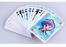 Poker cards/desk cards/bridge cards of Shugo chara with plastic case colorful!