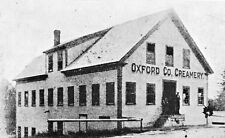 "SOUTH PARIS MAINE ""OLD OXFORD CO. CREAMERY"" UNUSED POSTCARD"