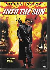 Sony Pictures, INTO THE SUN,  2005 Film,  USED DVD, Steven Seagal