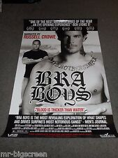 BRA BOYS - ORIGINAL DS ROLLED POSTER - 2007 - RUSSELL CROWE