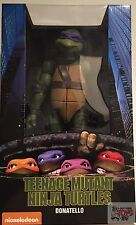 "DONATELLO TMNT Teenage Mutant Ninja Turtles NECA 1/4 Scale 2016 18"" INCH FIGURE"