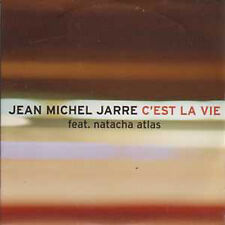 ☆ CD SINGLE Jean-Michel JARRE & Natacha ATLAS PROMO C'est la vie