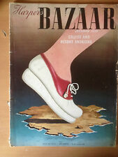 Magazine Harper's BAZAAR US Vers. JANUARY 1939 Collection Vintage Fashion Mode
