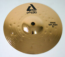PAISTE SPLASH ALPHA BRILLIANT THIN 8 PIATTO BATTERIA