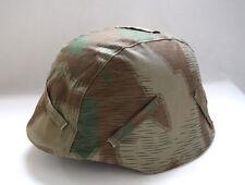 WWII German Splinter Camo M35 M40 Reversible Helmet Cover