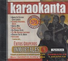 Los Guardianes Del Amor Tropical Panama Bronco  Inmortales 9 Karaoke New Sealed