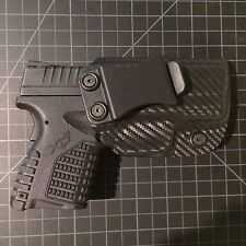 Springfield Armory xds 3.3 custom kydex holster iwb (carbon fiber)