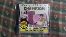 Sarah Geronimo - Sing Like  A Champion - 2 Minus One Albums - 2 CD
