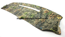 NEW SuperFlage Camo Camouflage Tailored Dash Mat Cover / 1997-98 CHEVY GMC TRUCK