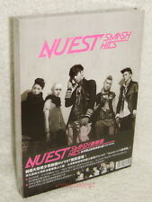 NU'EST SMASH HITS Taiwan Ltd CD+DVD+Card (Mini Album Action & Face)