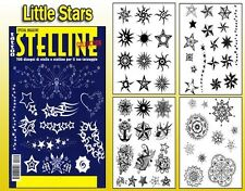LITTLE STARS Tattoo Flash Design Book 66-Pages Cursive Writing Art Supply