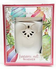 1 Bath & Body Works White Barn Ceramic Fragrance Melts Wax Tarts Warmer Unit