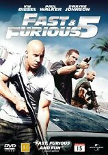 Fast & Furious 5 on Blu Ray (European Packaging Film Plays English)