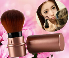 Brown Makeup Tools Foundation Retractable Beauty Powder Cosmetic Brush Fashion
