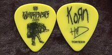 KORN 2016 Return Of Dreads Tour Guitar Pick!!! BRIAN HEAD WELCH custom stage #2