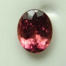 Natural Pink Tourmaline,4.49ct 9x12x6mm,oval, red pink, very clean Brazil,404