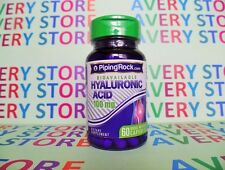 Piping Rock Hyaluronic Acid 100 mg 60 caps Rapid Release