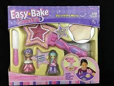 Easy Bake Essentials Decorating LightUp Wand Set Hasbro Age 8 Fairies Pink Purpl