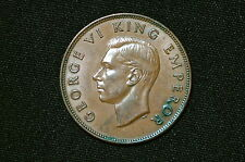 New Zealand One Penny Coin, 1943
