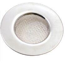 Tala in acciaio inox bacino del bagno Trappola Capelli PLUG HOLE COVER LAVELLO FILTRO