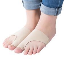2X Hallux Valgus Corrector Alignment Separator Foot Pain Relief Bunion Protector