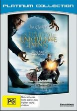 Lemony Snicket's: A Series Of UNFORTUNATE EVENTS DVD Jim Carrey BRAND NEW R4