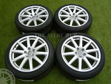 Genuine AUDI TT mk2 SPEEDLINE 18inch LEGA wheels+new BRIDGESTONE tyres,s-line