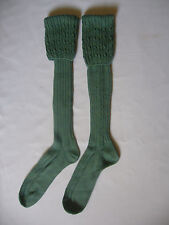 GENTS RANNOCH LONG WOOL  SOCK IN OLIVE  SIZE LARGE WALKING SHOOTING NEW